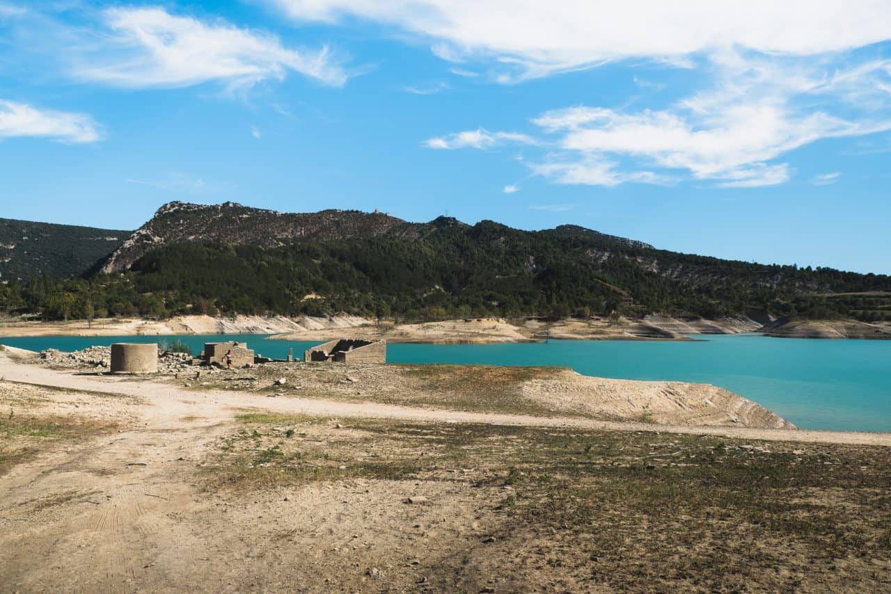 embalse mediano