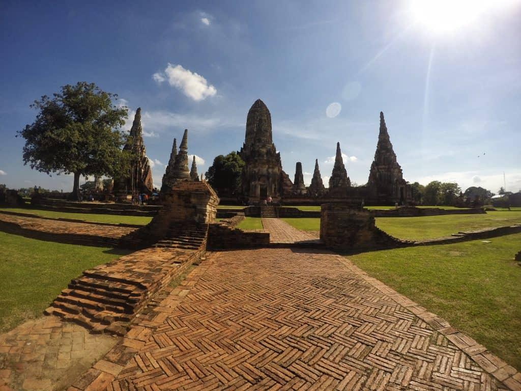 Ayutthaya - parque histórico