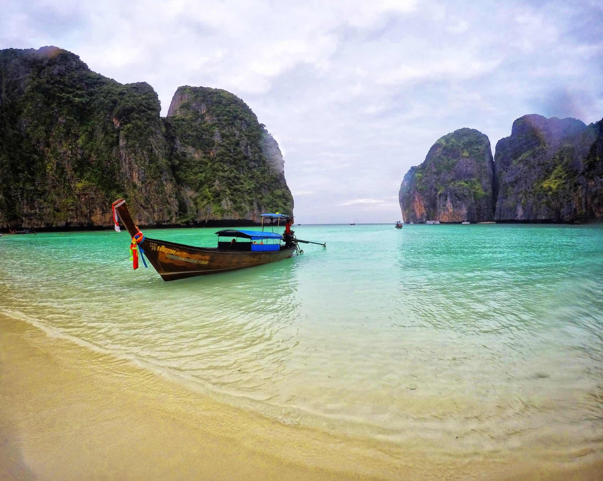 Maya Bay - uma praia deserta