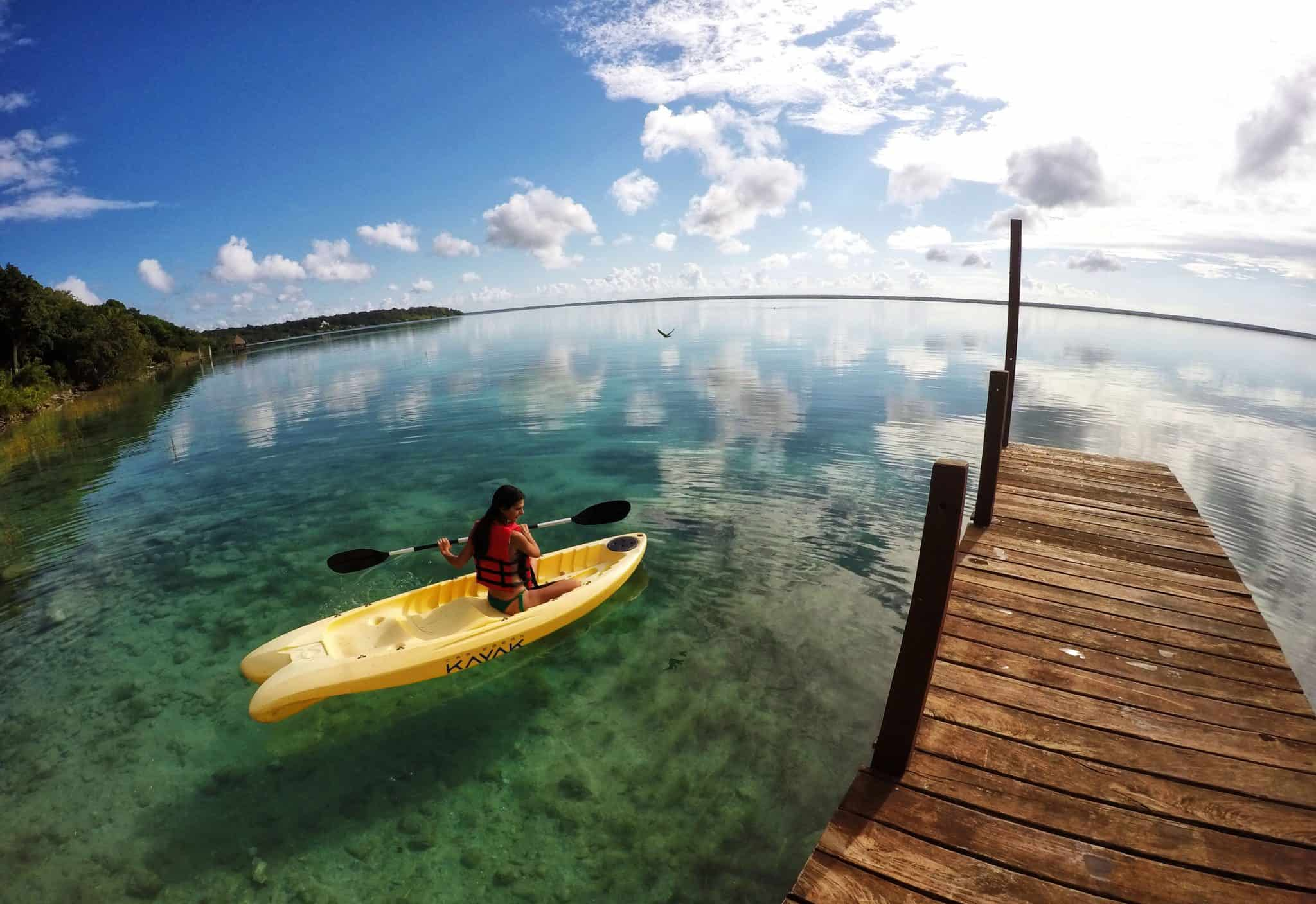 MÉXICO laguna  Bacalar
