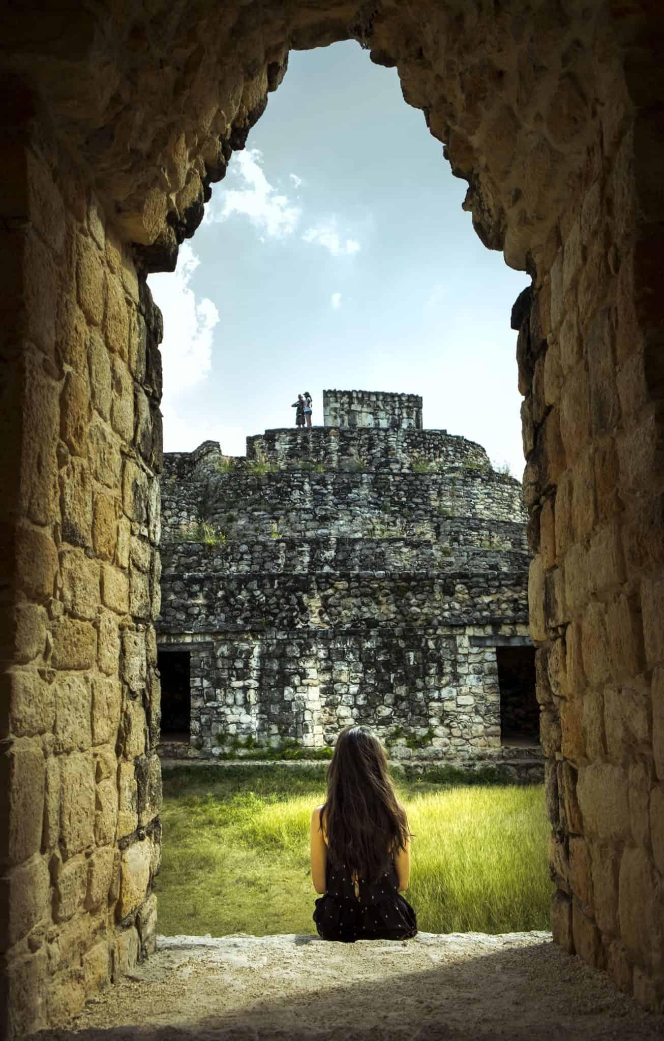 As ruínas de Ek Balam