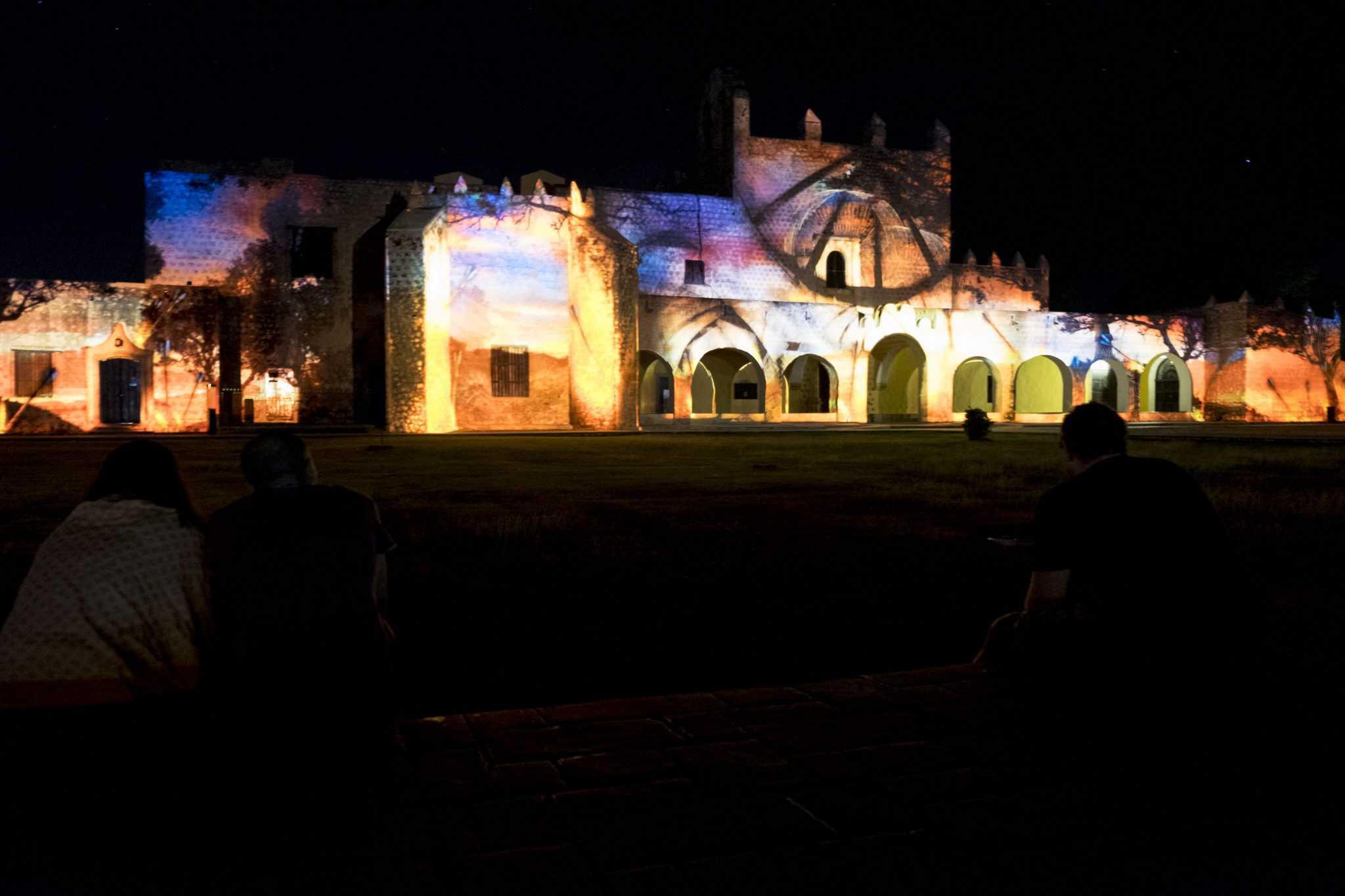 Espectáculo de luzes em Valladolid