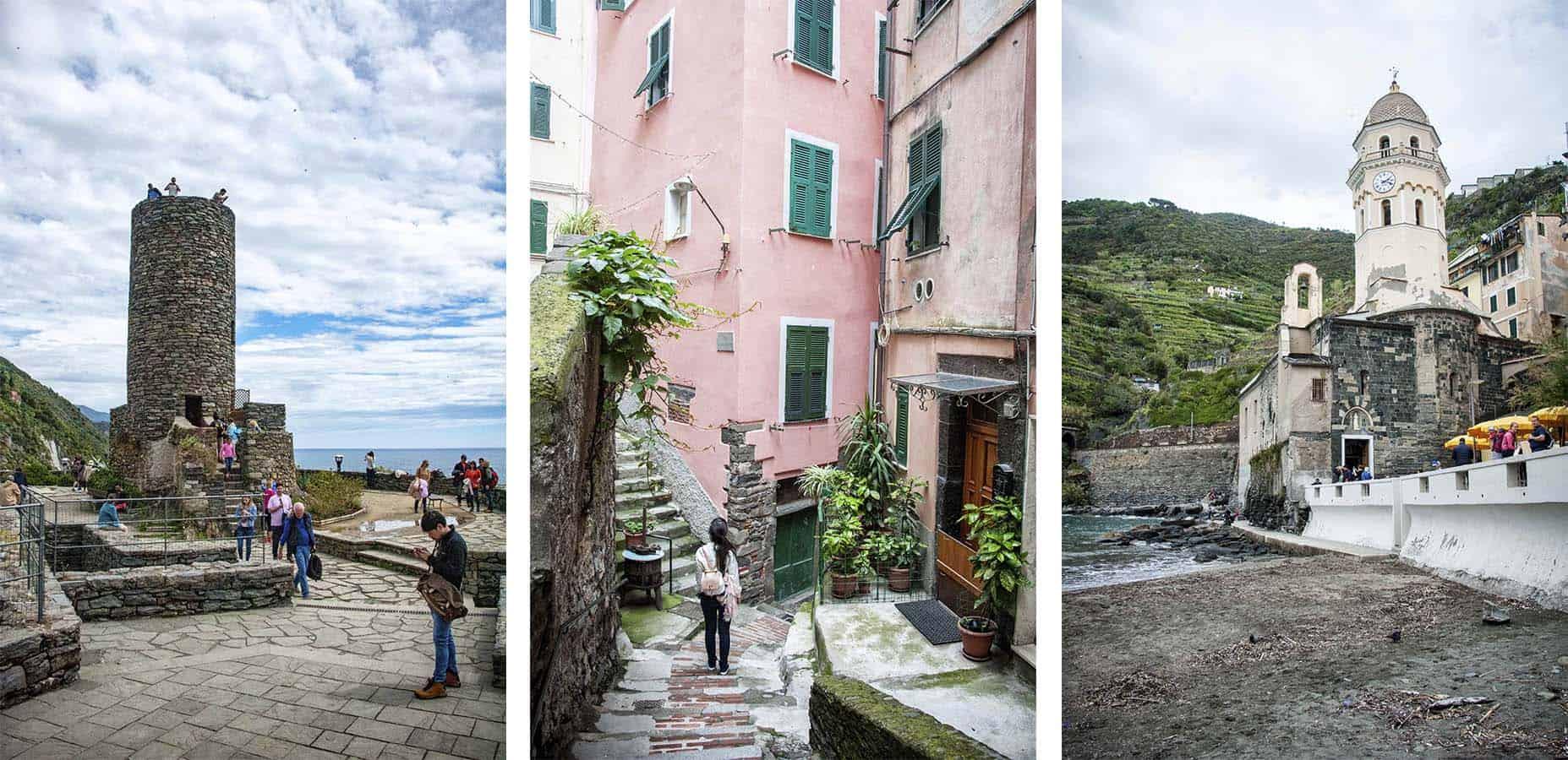 visitar vernazza itália