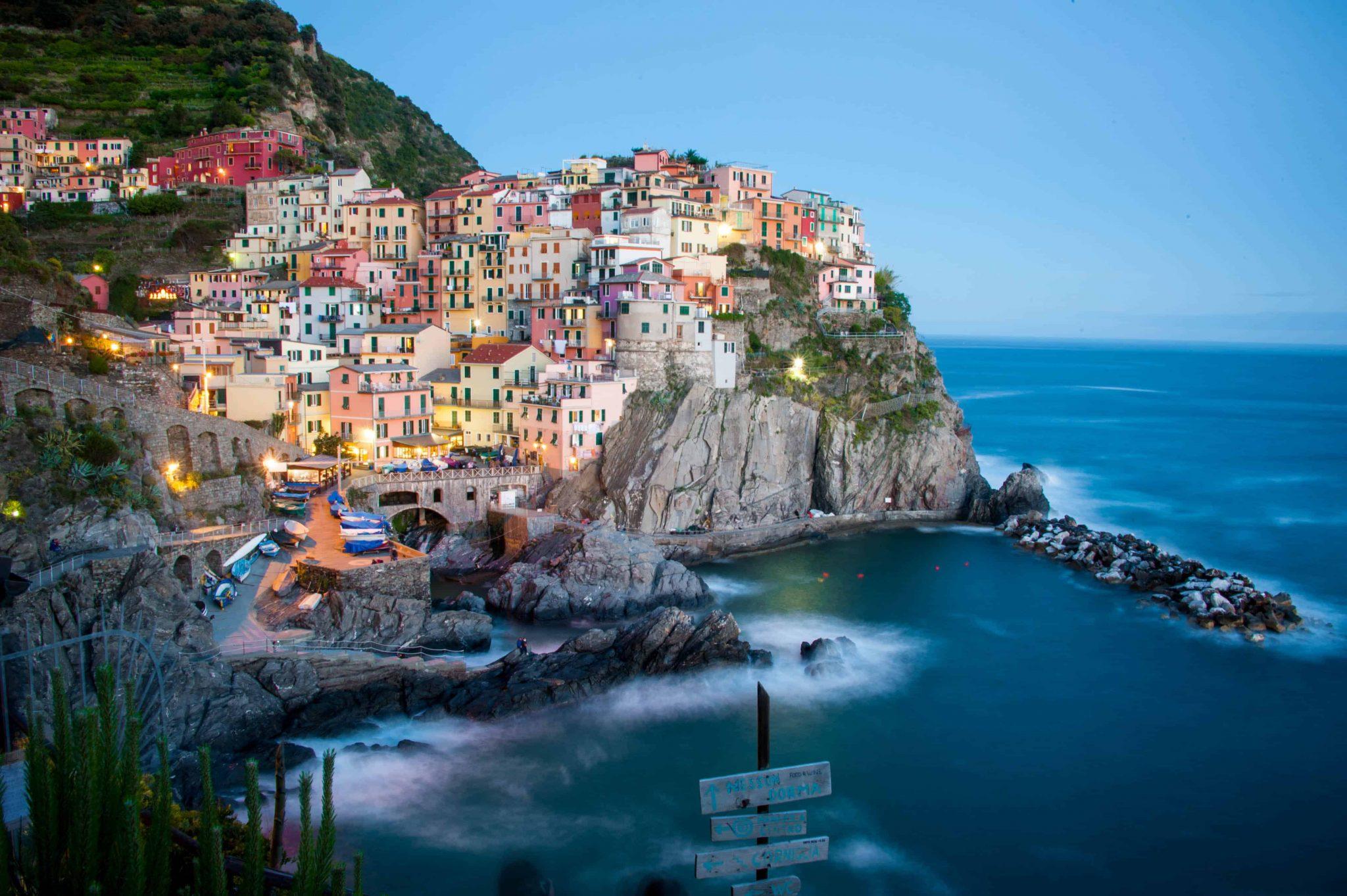 visitar cinque terre itália