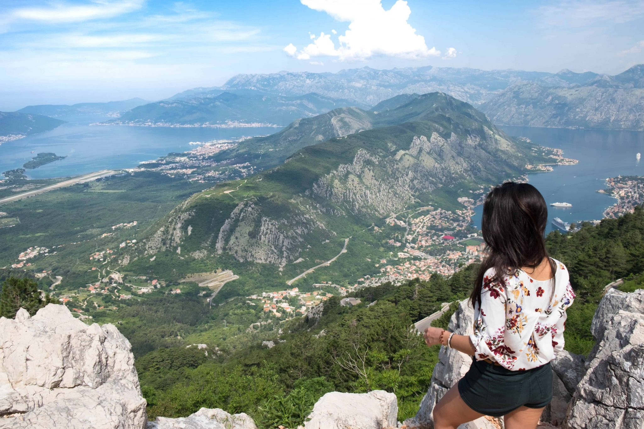 baía de kotor montenegro