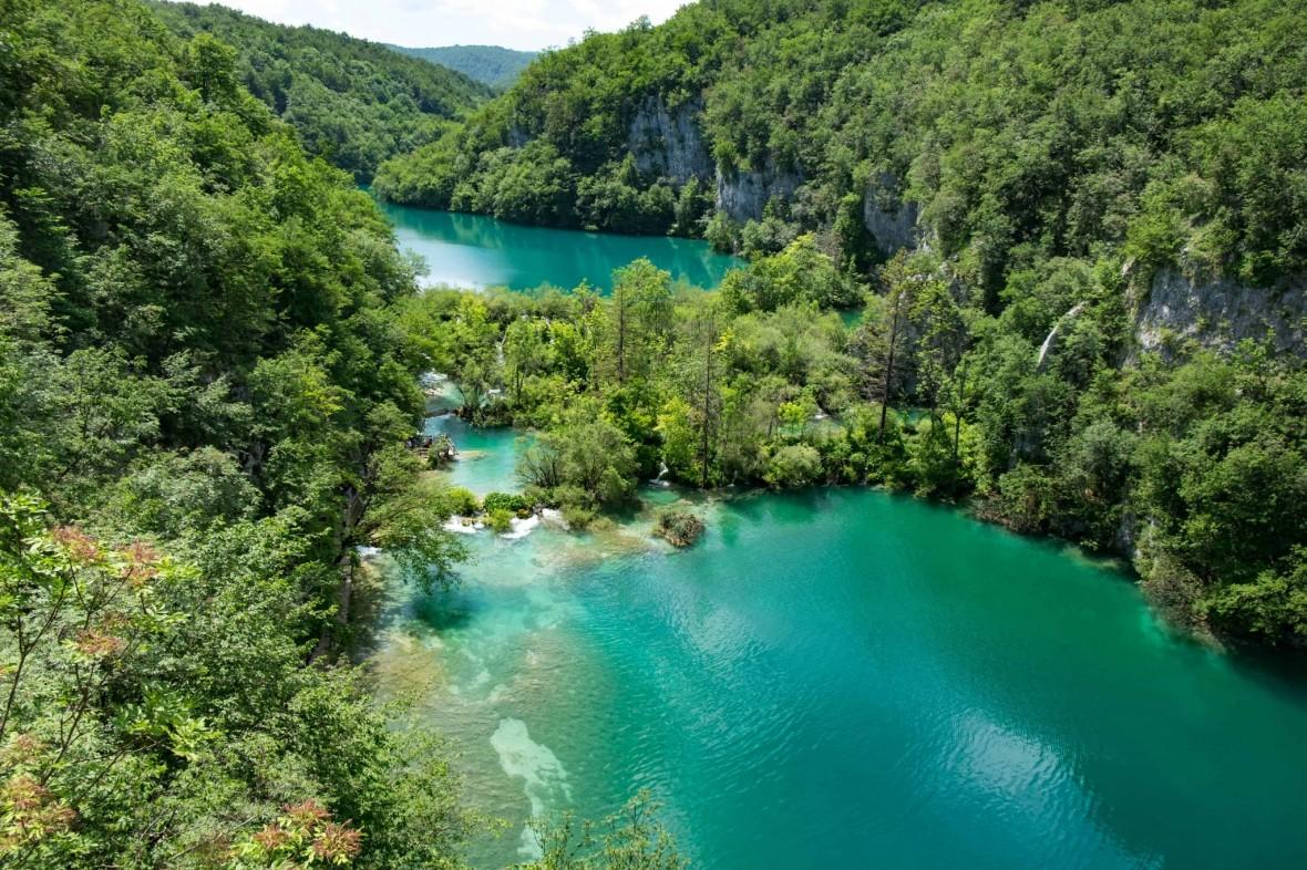roadtrip balcãs Lagos Plitvice Croácia