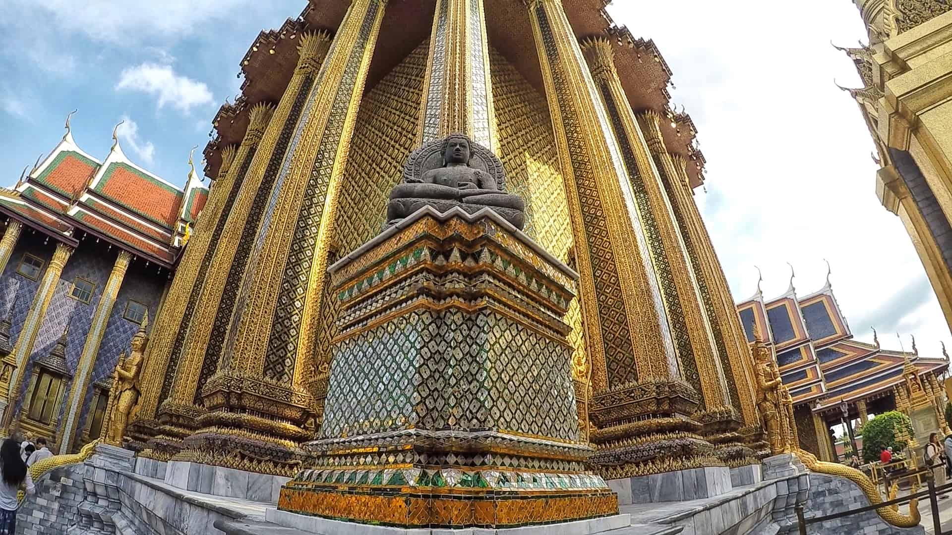 Bangkok grande palácio
