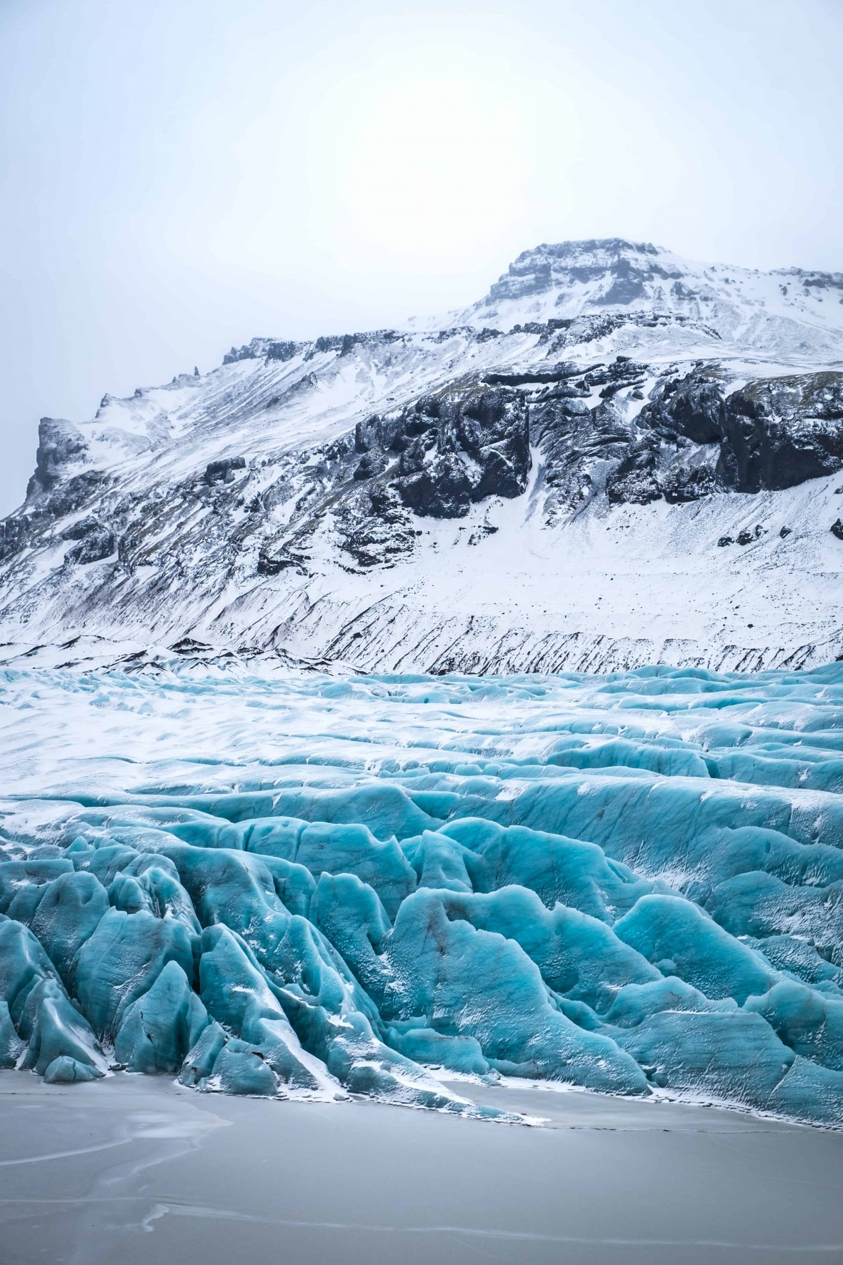 islandia inverno glaciar