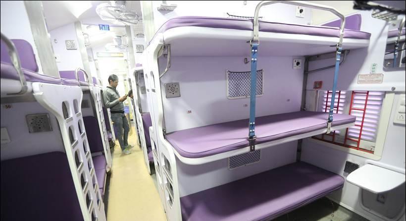 comboios na índia 3AC