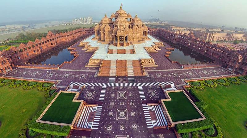 Akshardham Temple Nova Déli