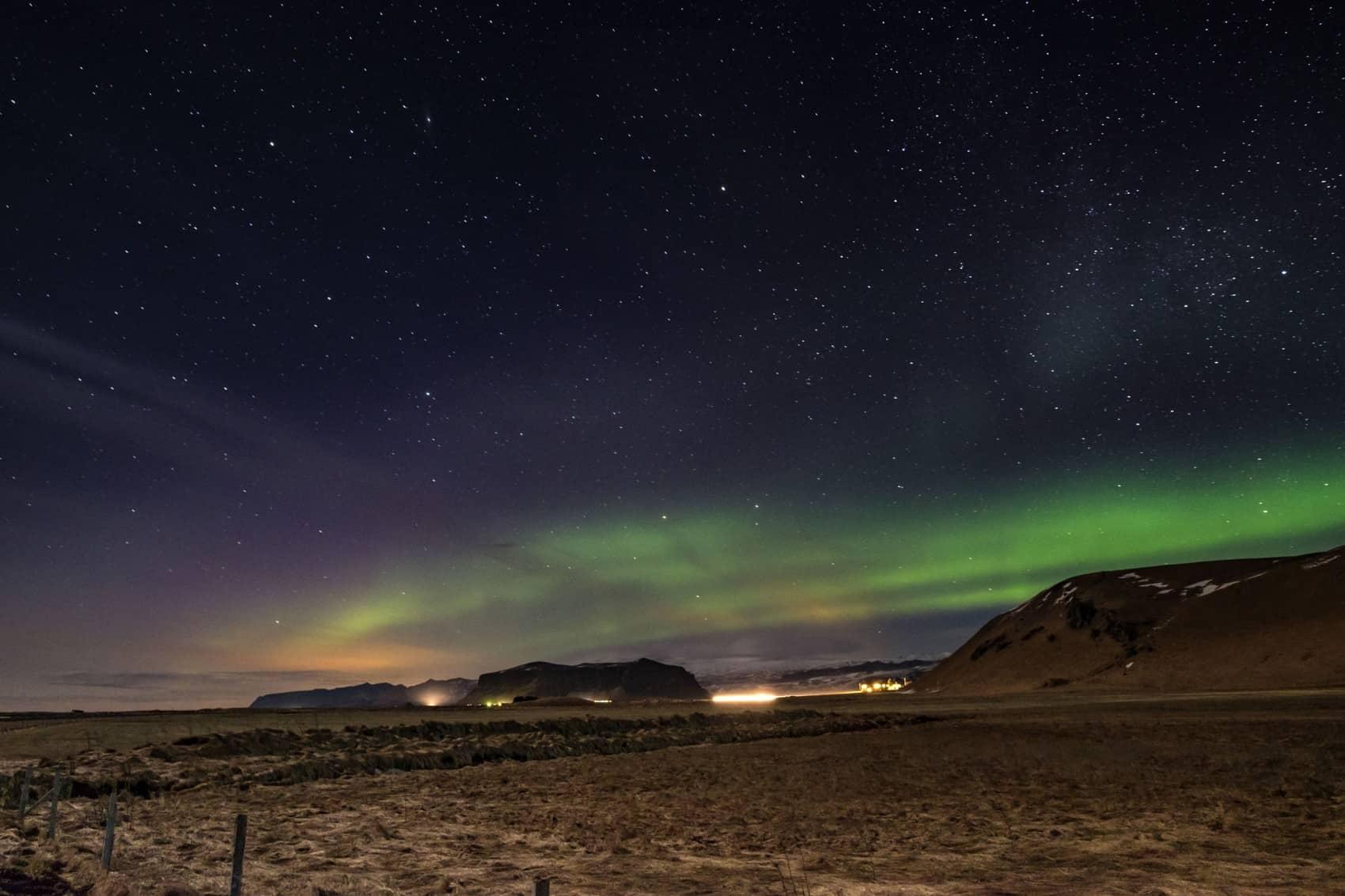 auroras boreais islândia