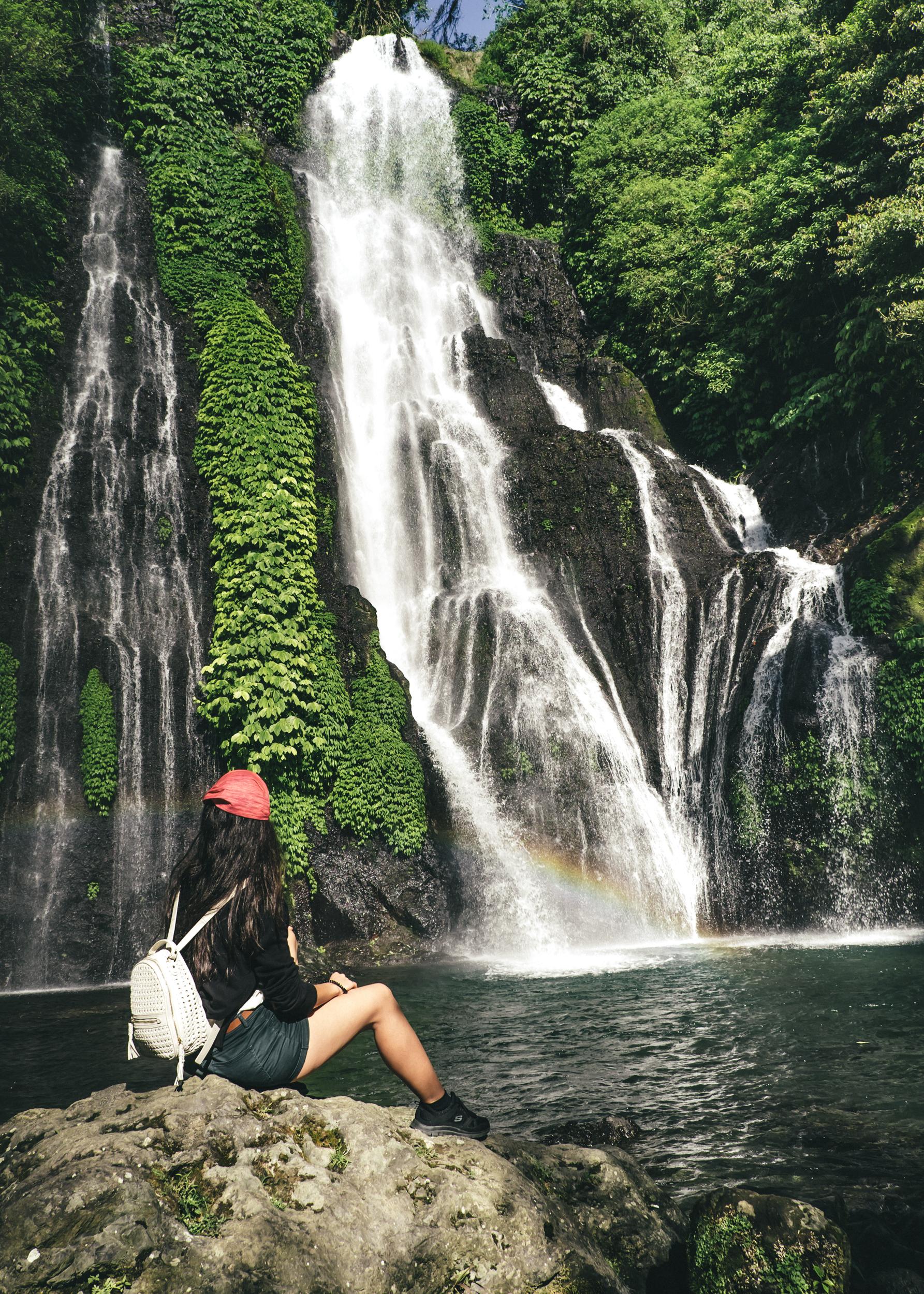 cascatas bali