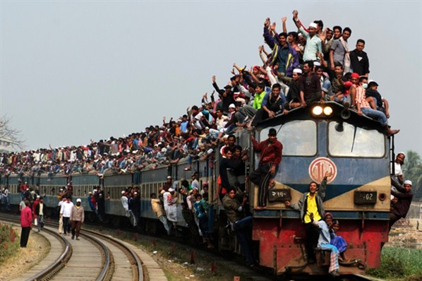 comboios na índia
