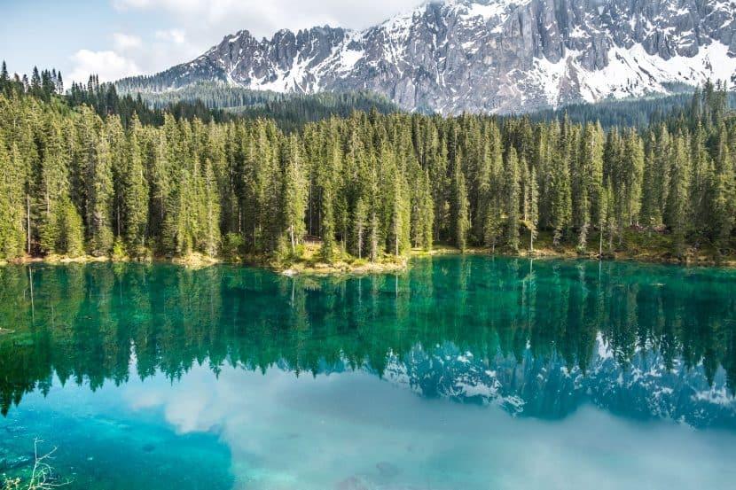 dolomitas lago carezza