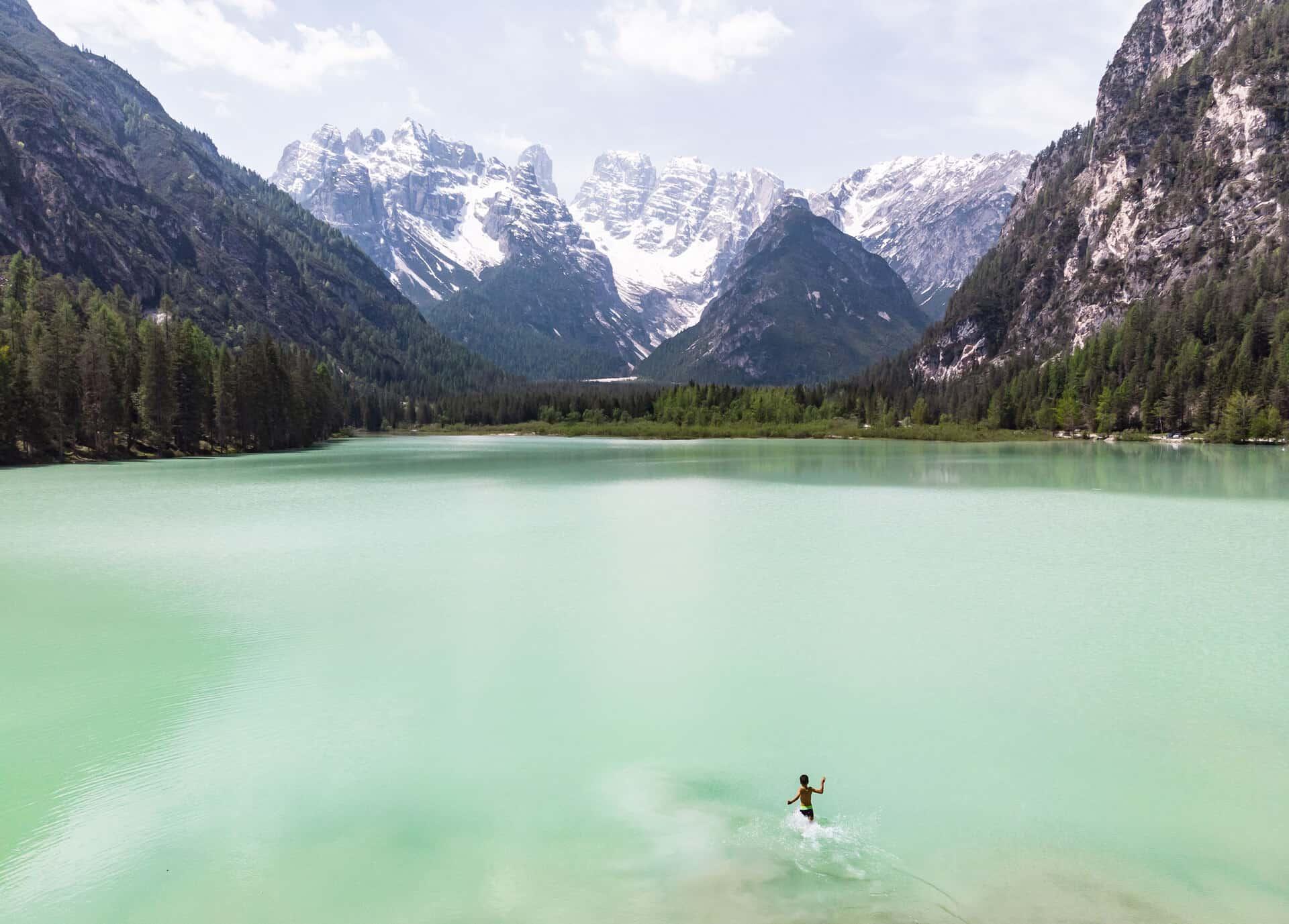 roteiro dolomitas lago di landro
