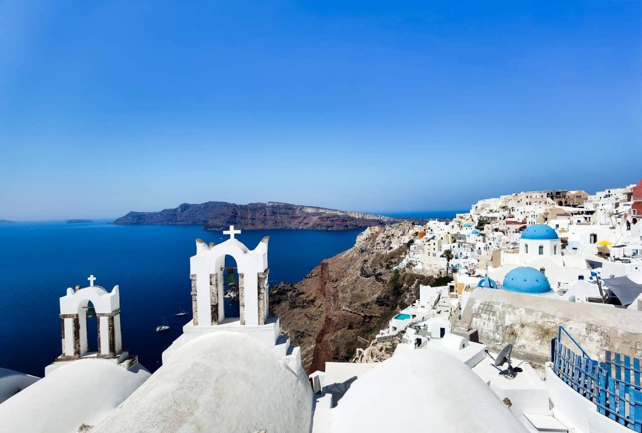 roteiro ilhas gregas santorini