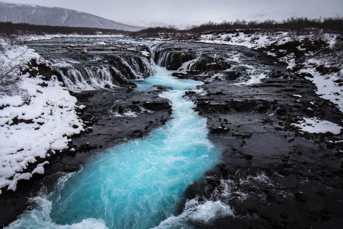 islandia bruarfoss