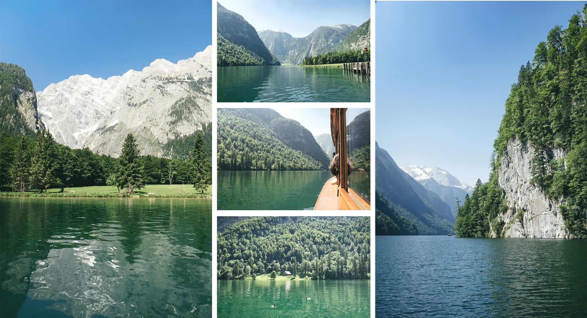 lagos obersee e konigssee
