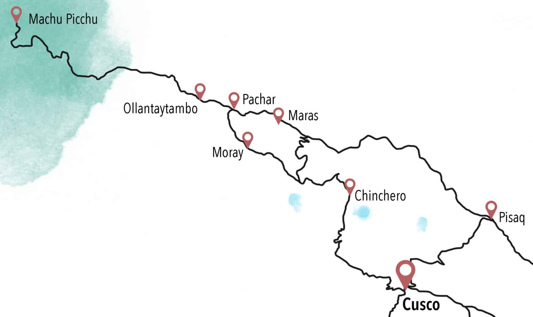 visitar cusco mapa