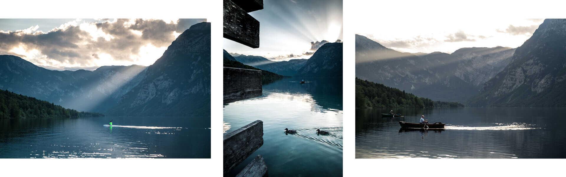 lago bohinj eslovenia