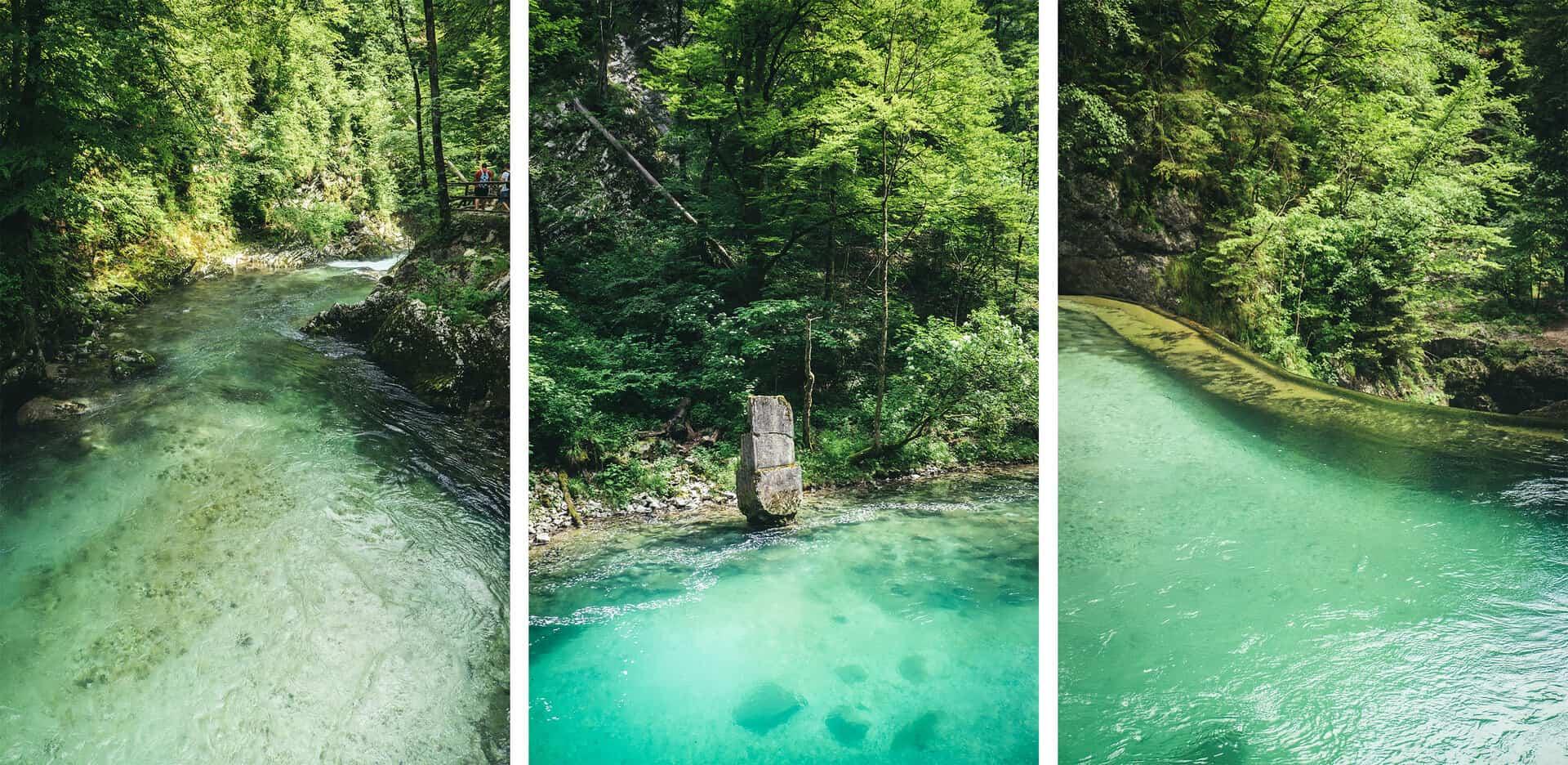 vintgar gorges eslovenia