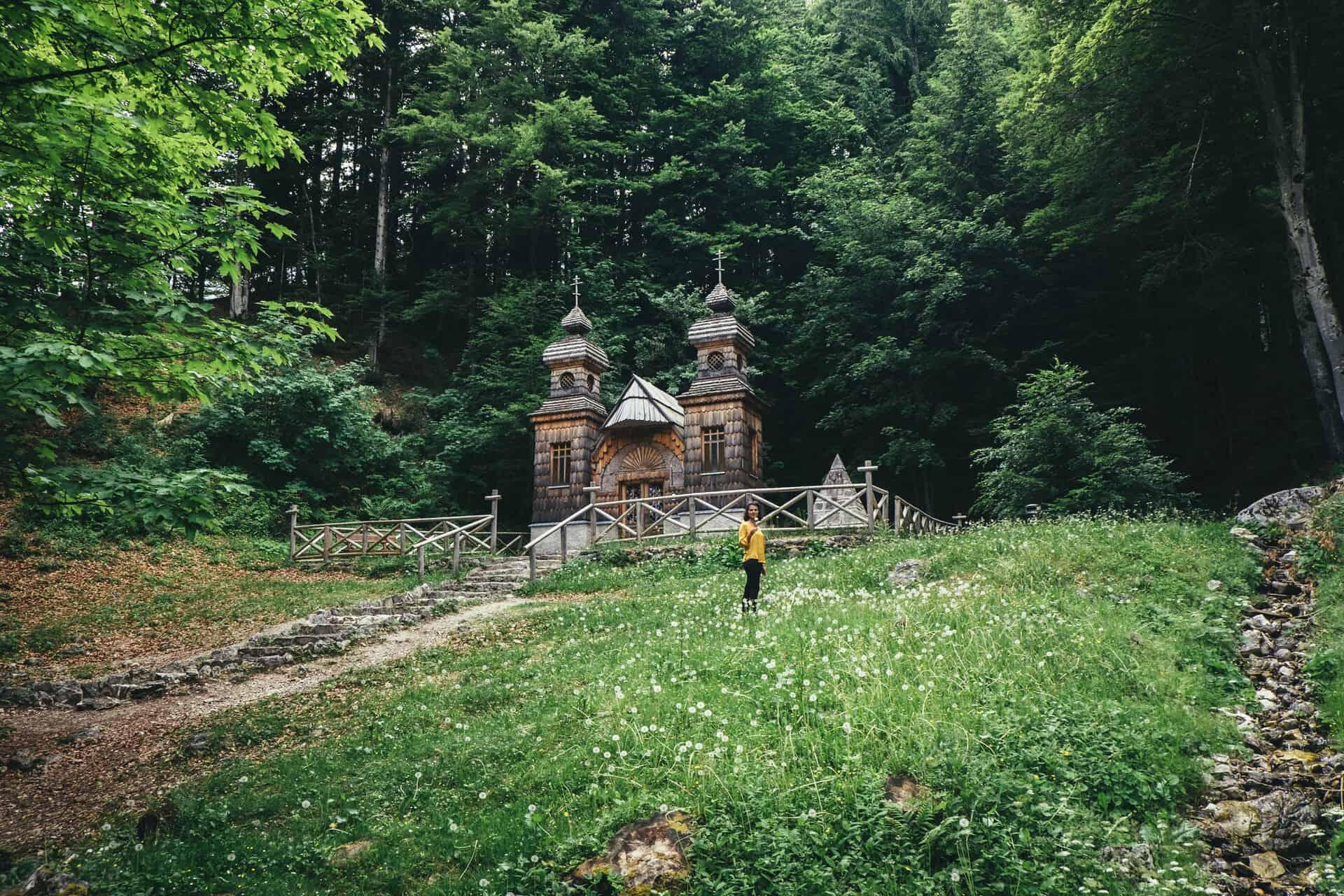 capela russa vrsic pass