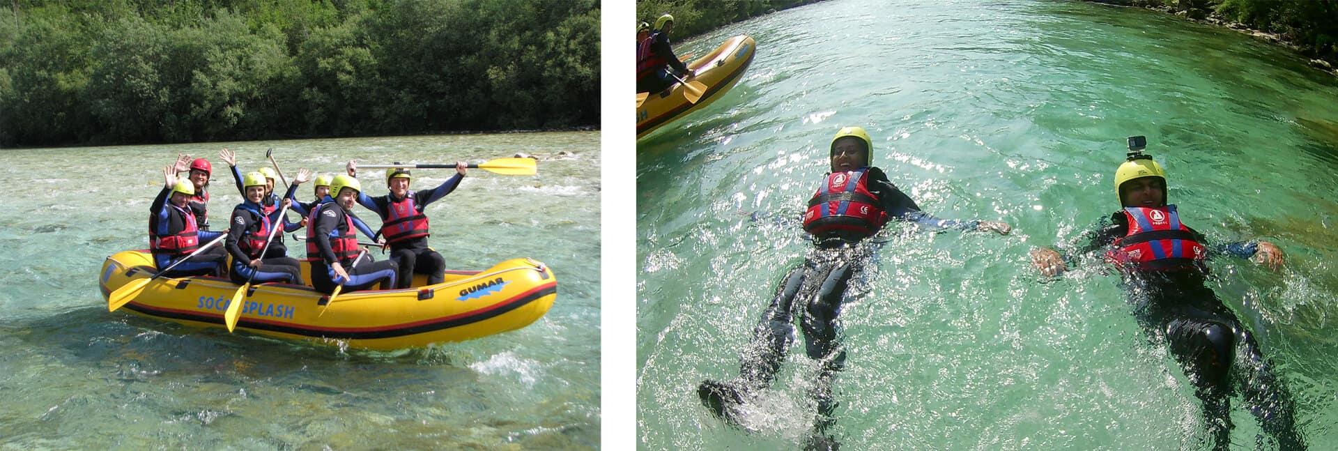 rafting rio soca