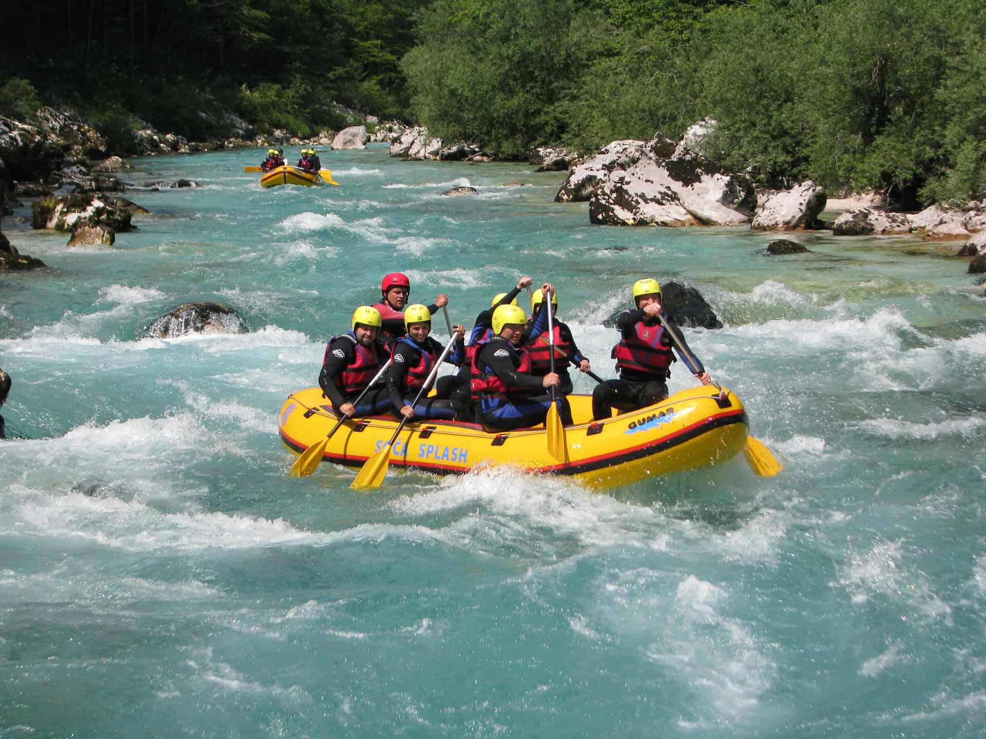 rafting eslovenia