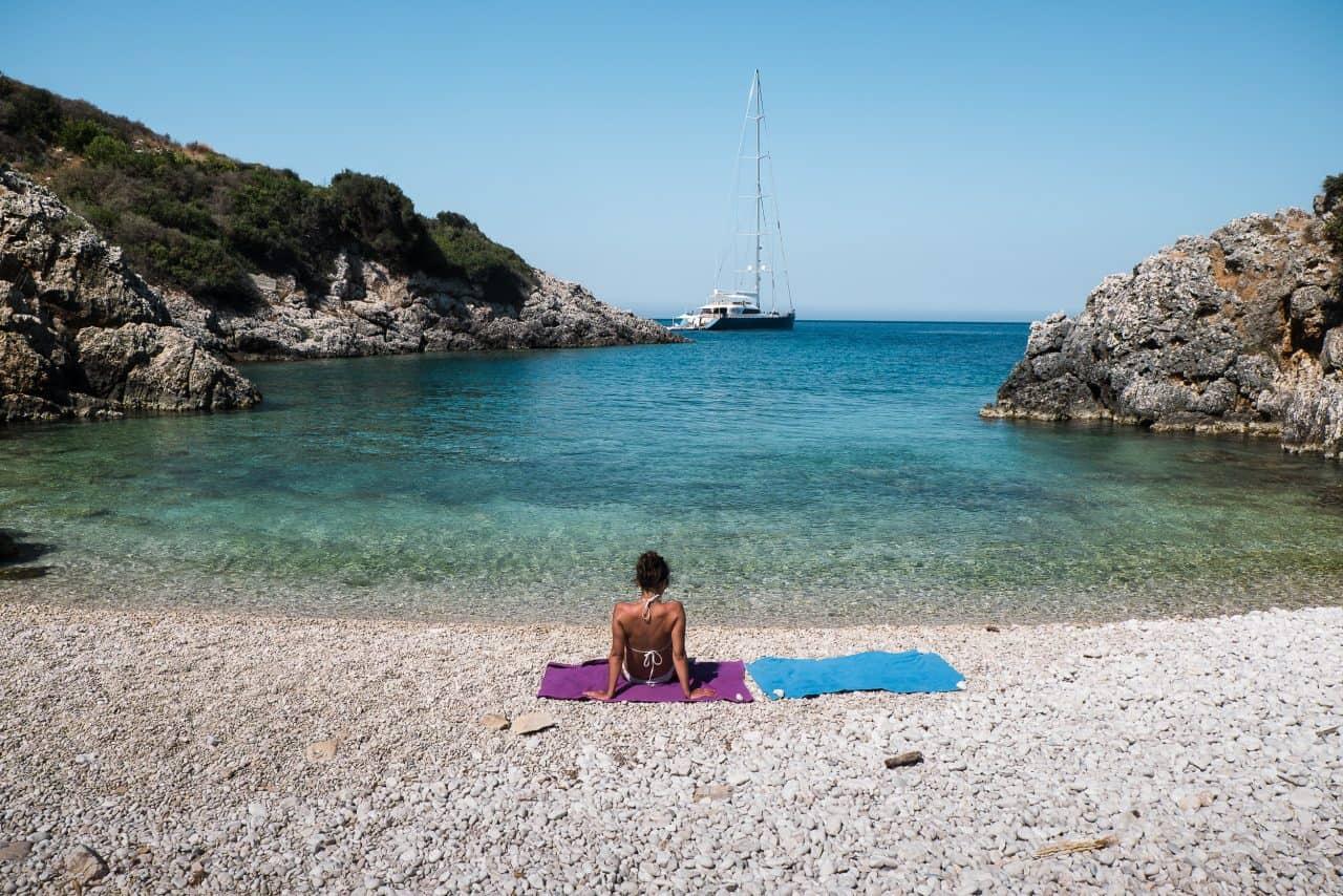 praia deserta grecia