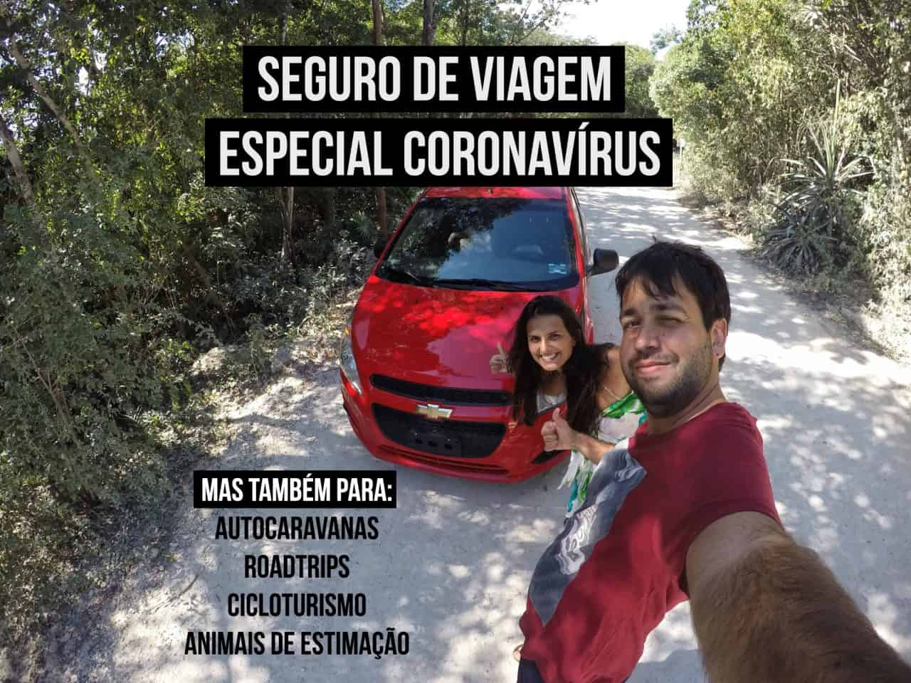 seguro viagem coronavirus