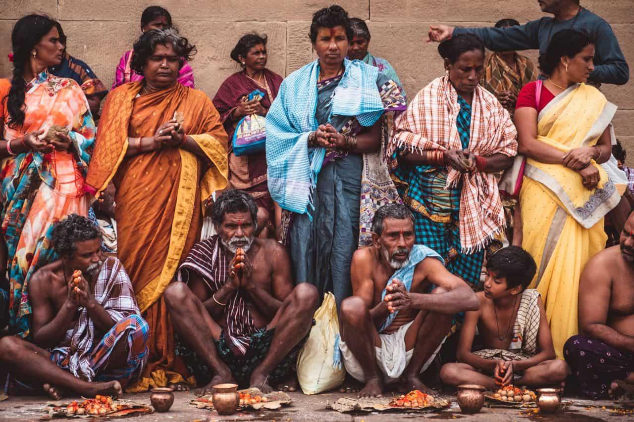 itinerário índia varanasi