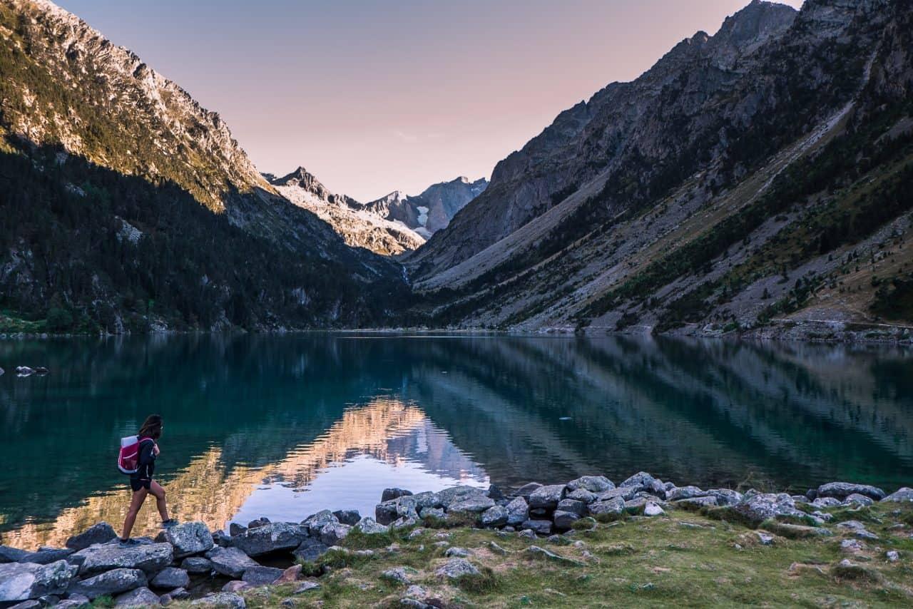 lago de gaube pireneus