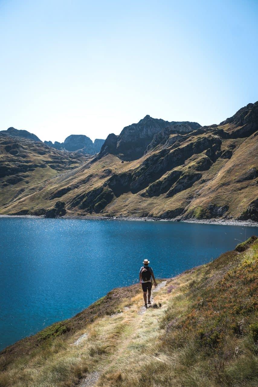 lac bleu pirenéus